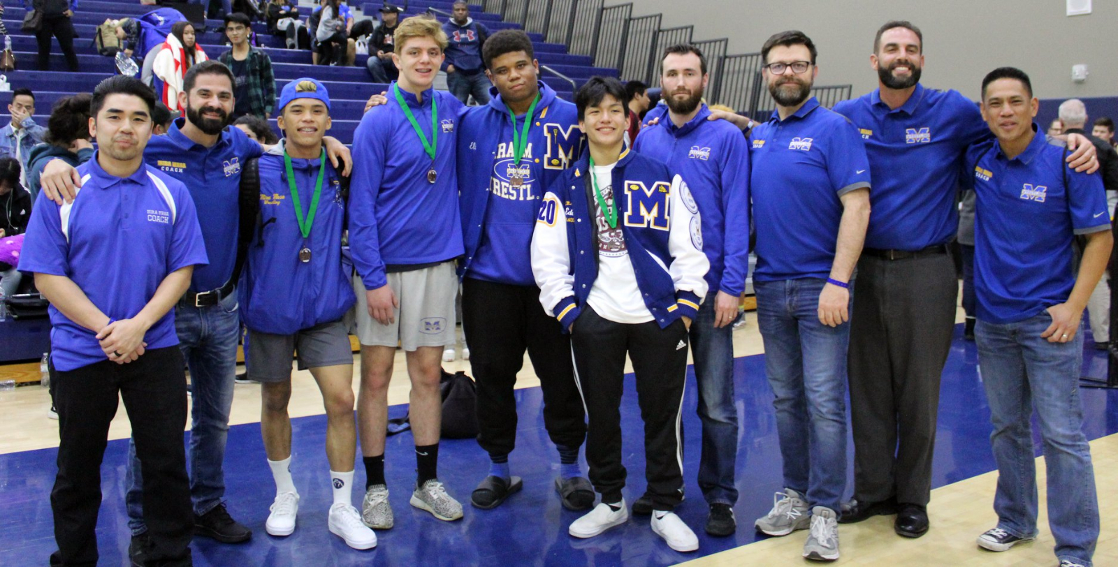 Wrestling Sends Record 5 Wrestlers to CIF State Meet