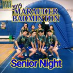 Badminton Celebrates Senior Night with 17-0 Victory