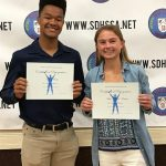 HSSA Honors Parker and Redic as Scholar Athletes