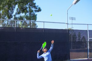 Girls Tennis vs Serra