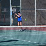 Girls Tennis vs Serra