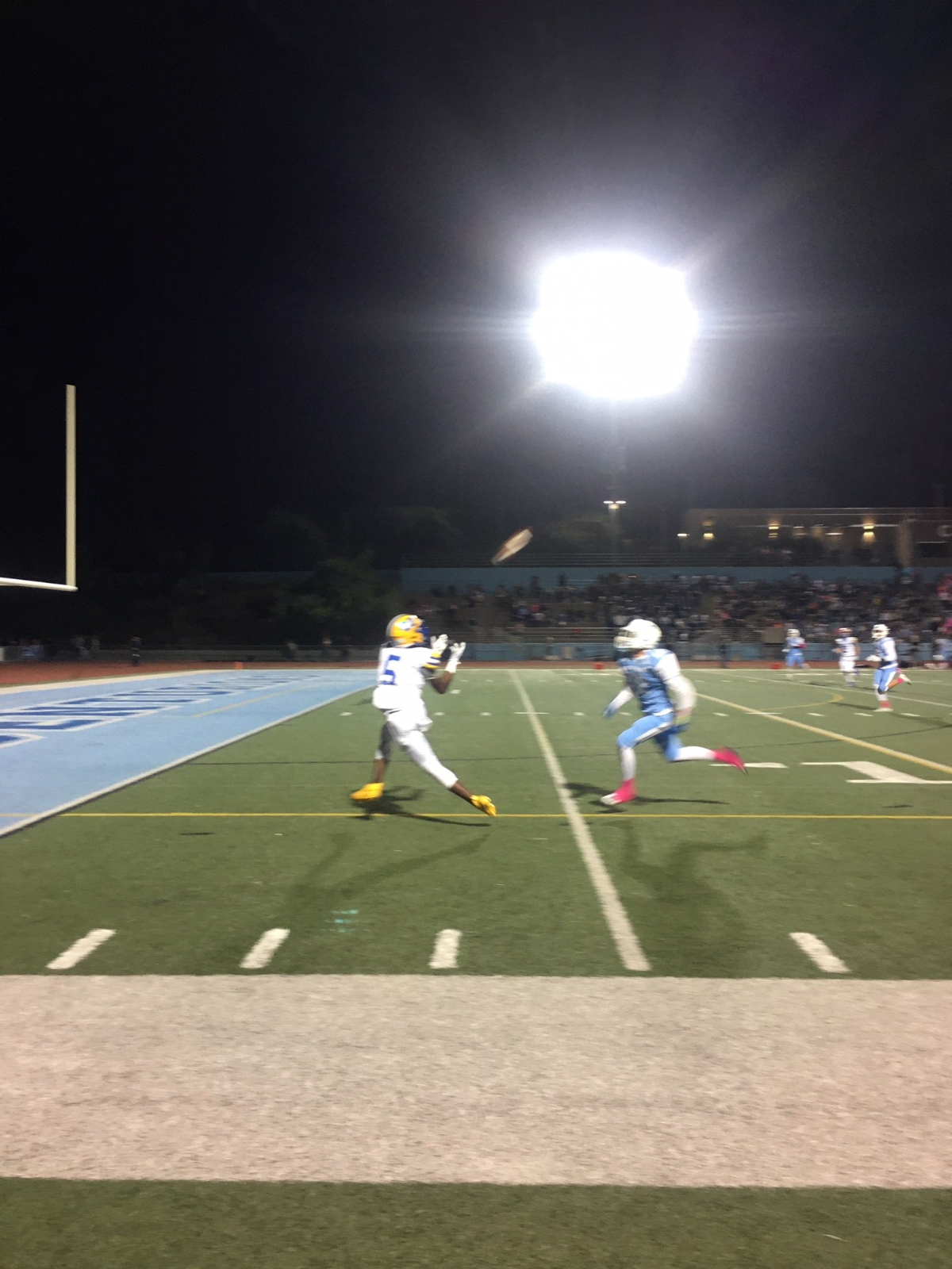Football Dominates UCHS for 62-26 Victory