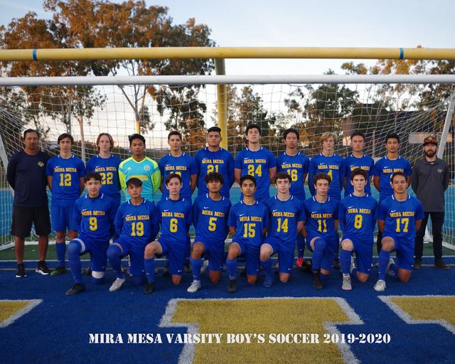 Boys Soccer Clinches League Championship