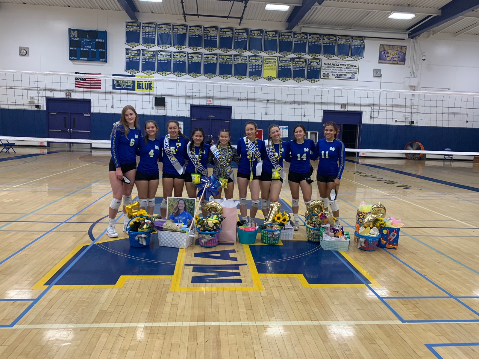 Girls Volleyball Program Goes Undefeated in League Play