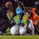Meet Micaela Lozano, ND's athletic trainer