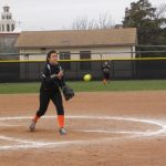 Profile on softball pitcher Emily Piña
