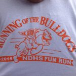 Registration form for April 11 Running of the Bulldogs