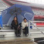 The rain can't stop the Bulldogs