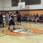 Basketball teams take court in Orange & White Classic