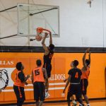 North Dallas basketball teams on the road Tuesday