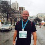 ND Athletic Coordinator Brian Barnett finishes half-marathon