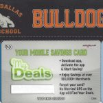 Get your North Dallas HS discount card for your phone