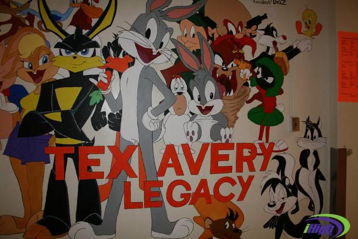 Remember when …  North Dallas celebrated the life and work of Tex Avery in 2010