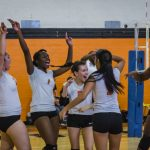 Lady Bulldogs open district volleyball play against BA