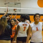 Lady Bulldogs take volleyball victory