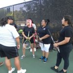 North Dallas tennis team hits the court for fall season