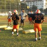 No game this week, but Bulldogs continue practicing