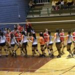 North Dallas volleyball team falls on Senior Night