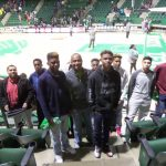 North Dallas basketball players attend North Texas game