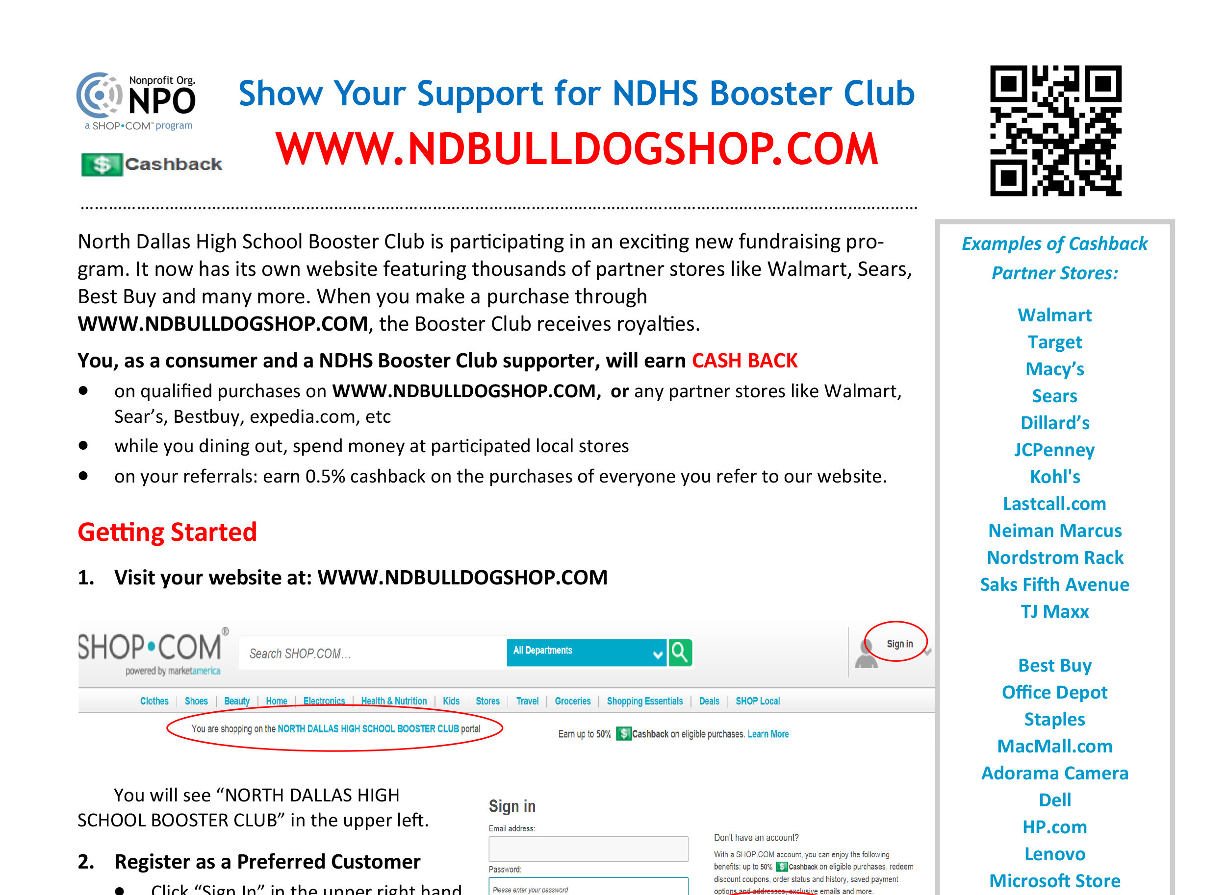 Booster Club's NDBulldogshop.com offers great last-minute gift ideas
