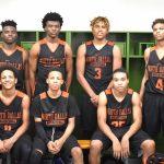 North Dallas High's boys junior varsity basketball team