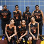 North Dallas High's boys freshman basketball team