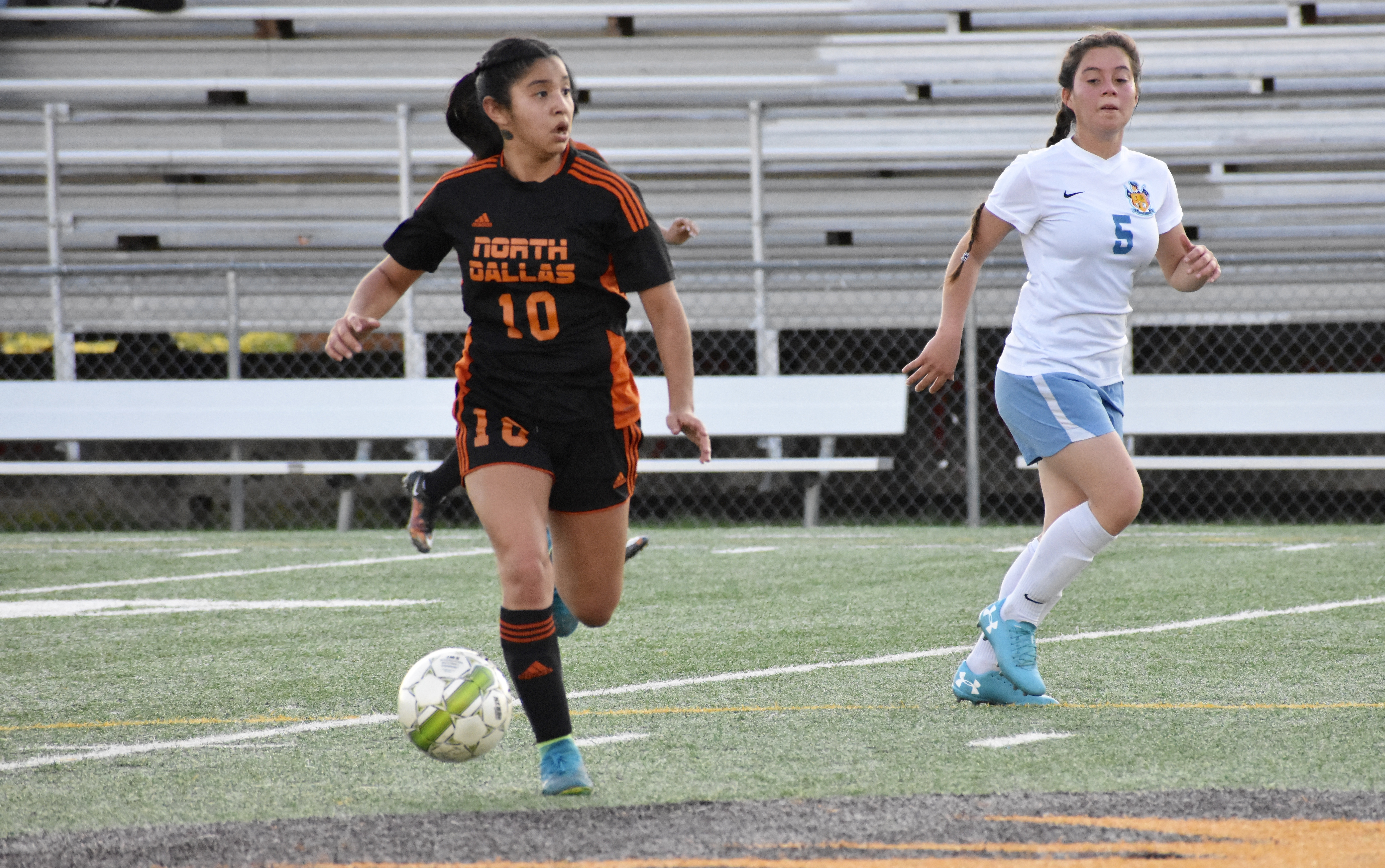 North Dallas midfielder Xya Balderas named 12-5A Offensive Player of the Year