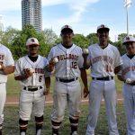 Senior baseball players recognized at Bulldogs' baseball game