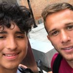 North Dallas players meet professional soccer players from Barcelona