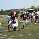 Bulldogs junior varsity offense shows signs of scoring capability