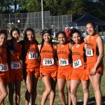 North Dallas Cross Country team at District 12-4A meet — Oct. 11, 2018
