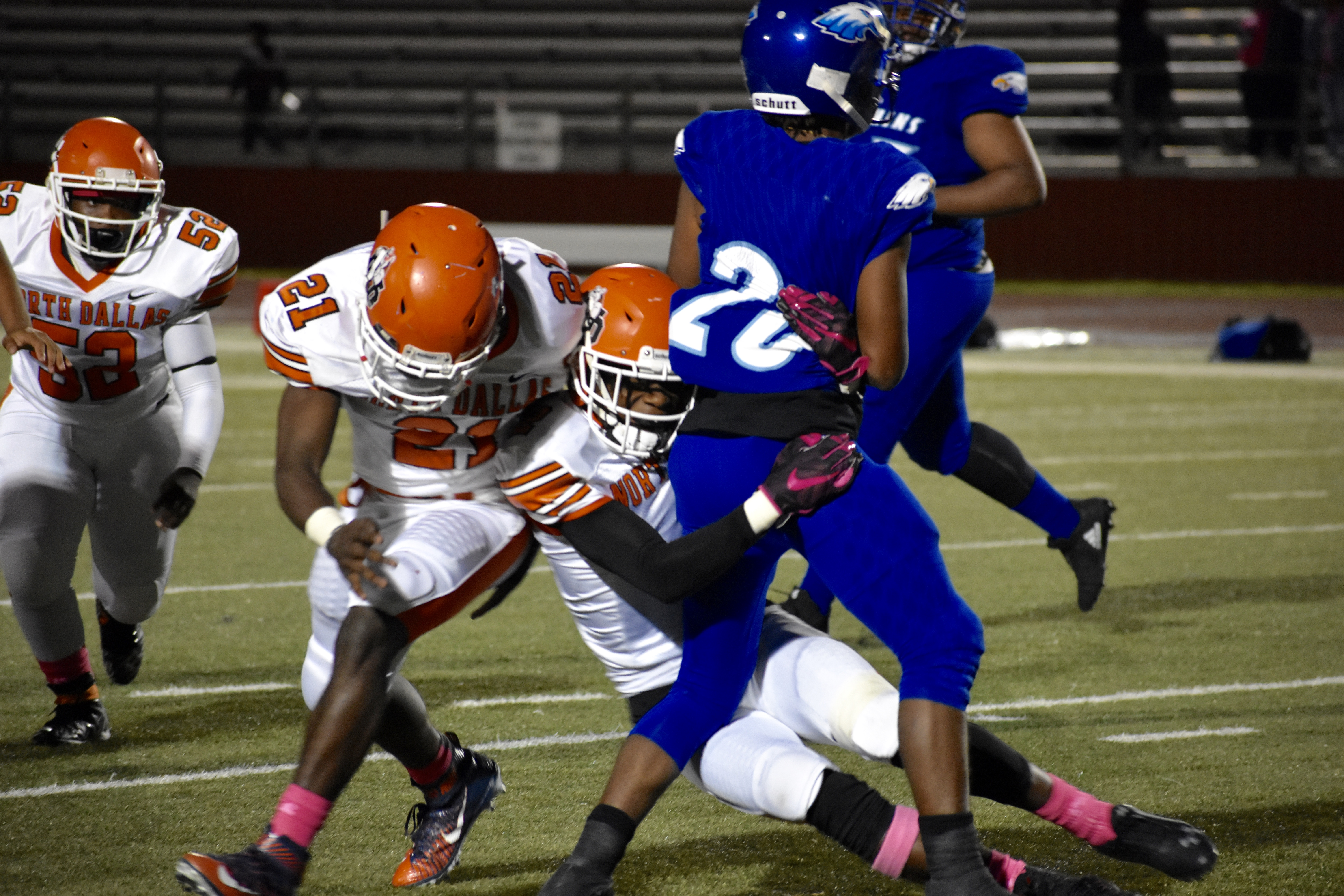 North Dallas getting ready 'to give a good show' against Pinkston in Homecoming game