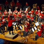 Watch: Travis Academy bands perform at North Dallas'  Winter Festival