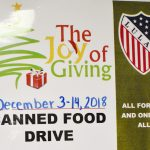 A look back: North Dallas LULAC chapter wraps up busy month with canned food drive
