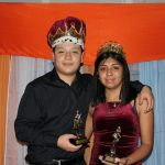 Jose Lule and Maria Romo named King and Queen at JROTC Military Ball