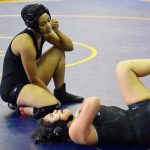 North Dallas wrestlers getting better with techniques; prepare for city meet