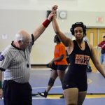 Lady Bulldogs earn medals at Conrad wrestling meet