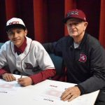 North Dallas senior Noel Lopez signs baseball letter of intent with DCC