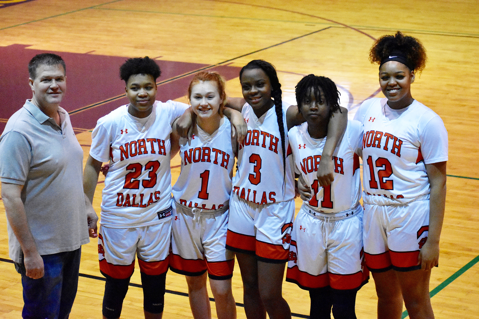 Lady Bulldogs' starting five earn spots on All-District 12-4A team