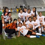Faces of North Dallas girls soccer team — next game is at Wilmer-Hutchins