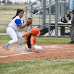 After slow start, Lady Bulldogs softball rolls to 9-3 win in district opener