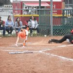 Lady Bulldogs lose 14-13 as 7-run rally ends with two out