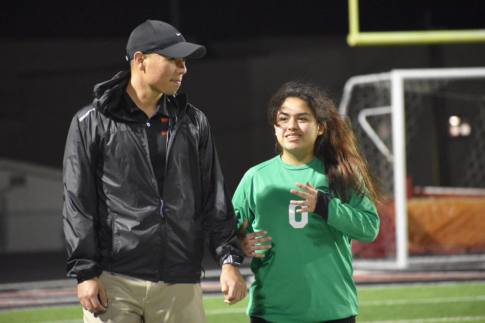 North Dallas athletic trainer Nicholas Saldivar receives recognition
