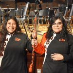 Sarah Escalante and Katherine Osorio named North Dallas drum majors for next year