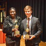 Ladaysha Robinson and Sonnie Mathis take top awards at North Dallas athletic banquet