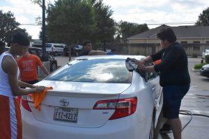 Photo gallery: North Dallas football car wash fundraiser — June 15, 2019