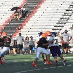 Photo gallery: North Dallas Bulldogs vs. Sunset Bisons scrimmage — 08-22-2019