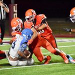 Bulldogs' aggressive defense plays tough in opening win