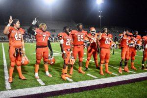 Photo gallery: North Dallas football team vs. TJ (second half) — 08-30-2019