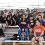 Spence band members attend game to see North Dallas band in action